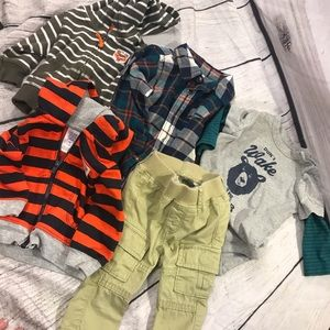 Stripes/Hoodies Gap/ Carter bundle